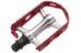 XLC Ultralight V PD-M15 Polkimet MTB/ATB , punainen/hopea